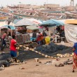 Mbour fish market — Stock Photo #50717785