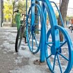Bike rack — Stock Photo #6012153