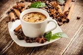 Ročník káva — Stock fotografie