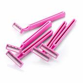 Pink razor — Stock Photo