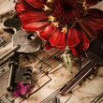 Vintage still life with old keys — Stock Photo #27148297