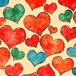 Hearts background — Stock Photo #27813615