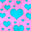 Hearts background — Stock Photo #27813763