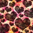 Hearts background — Stock Photo #27813817