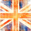 Grunge flag of England — Stock Photo