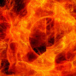 Fire abstract background — Stock Photo #27815097