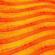 Stock Photo: Wave orange pattern
