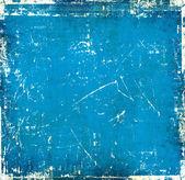 Blauwe kras achtergrond — Stockfoto