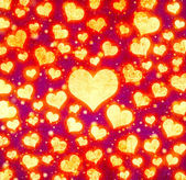 Grunge love pattern — Stock Photo