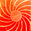 Orange grunge swirl background — Stock Photo