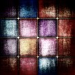 Dark grunge square background — Stock Photo