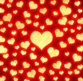 Abstract hearts pattern — Stock Photo