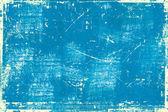 Bright blue grunge background — Stock Photo