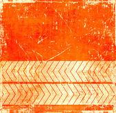 Sfondo grunge arancione con puntatore — Foto Stock