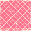 Stock Photo: Pink grunge checkered background