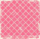 格子縞ピンク グランジ背景 — ストック写真