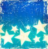Grunge stars background — Stock Photo