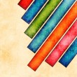 Grunge bright stripes background — Stock Photo #27840623