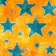 Stock Photo: Grunge stars background