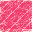 Pink hearts background — Stockfoto