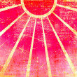 Pink grunge sun background — Stock Photo