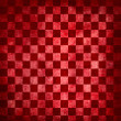 Stock Photo: Red grunge checkered background