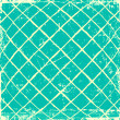 Stock Photo: Blue grunge checkered background