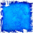 Blue scratch background — Stock Photo