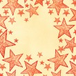 Naive art stars background — Stock Photo #27847371