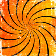 Orange grunge swirl background — Foto de Stock
