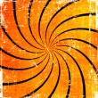 Orange grunge swirl background — 图库照片