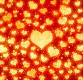 Grunge srdce pozadí — Stock fotografie