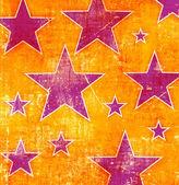 Sfondo grunge con molte stelle — Foto Stock