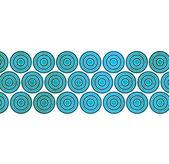 Sfondo grunge blu — Foto Stock