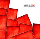 Elemento de design quadrado em branco com lugar para texto — Fotografia Stock