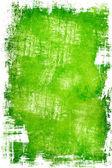 Green grunge background — Foto de Stock