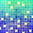 Grunge mosaic background — Stock Photo