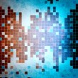 Abstract cold mosaic background — Stock Photo