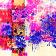 Abstract paint blots — Stok fotoğraf