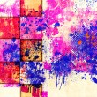 Stock Photo: Abstract paint blots