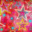 Grunge stars background for decoration — Stock Photo