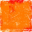 Grunge orange background — Foto Stock