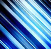 蓝色光芒模板 — 图库照片