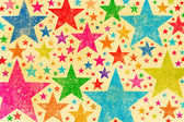 Grunge stars pattern background — Stock Photo