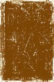 коричневая гранж-фон — Стоковое фото