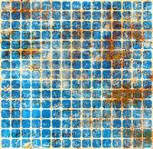 Grunge wall mosaic background — Stock Photo