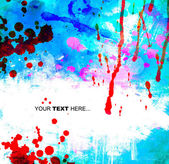 Abstrato azul com lugar para texto — Fotografia Stock