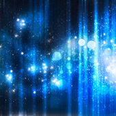 Shine blue abstract background with stars — Stock Photo