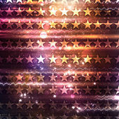 Shine purple abstract background with stars — Stock Photo