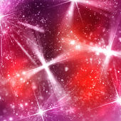 Abstract shine background with snowflakes — Stock Photo